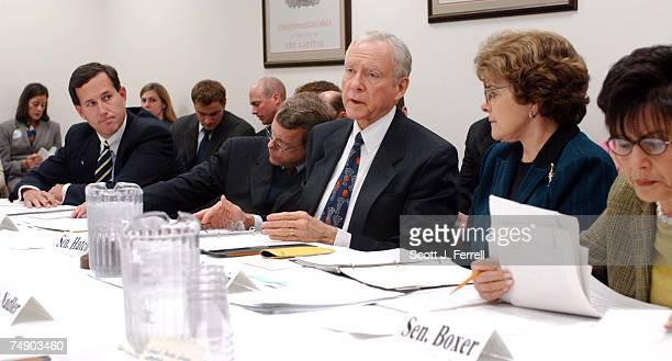 'PARTIALBIRTH' ABORTION CONFERENCE COMMITTEE Sen Rick Santorum RPa Sen Mike DeWine ROhio Senate Judiciary Orrin G Hatch RUtah Sen Dianne Feinstein...