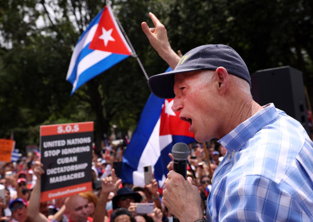 DC: Republican Politicians Join Rally For Cuban People