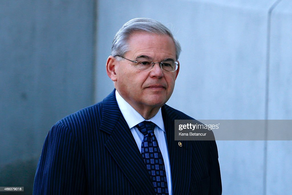 NJ Sen. Bob Menendez Arraigned On Corruption Charges