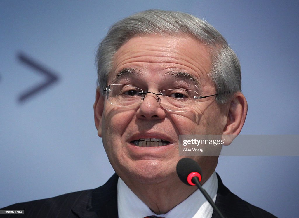 Sen. Robert Menendez Holds Talk On American Strategy Towards Russia
