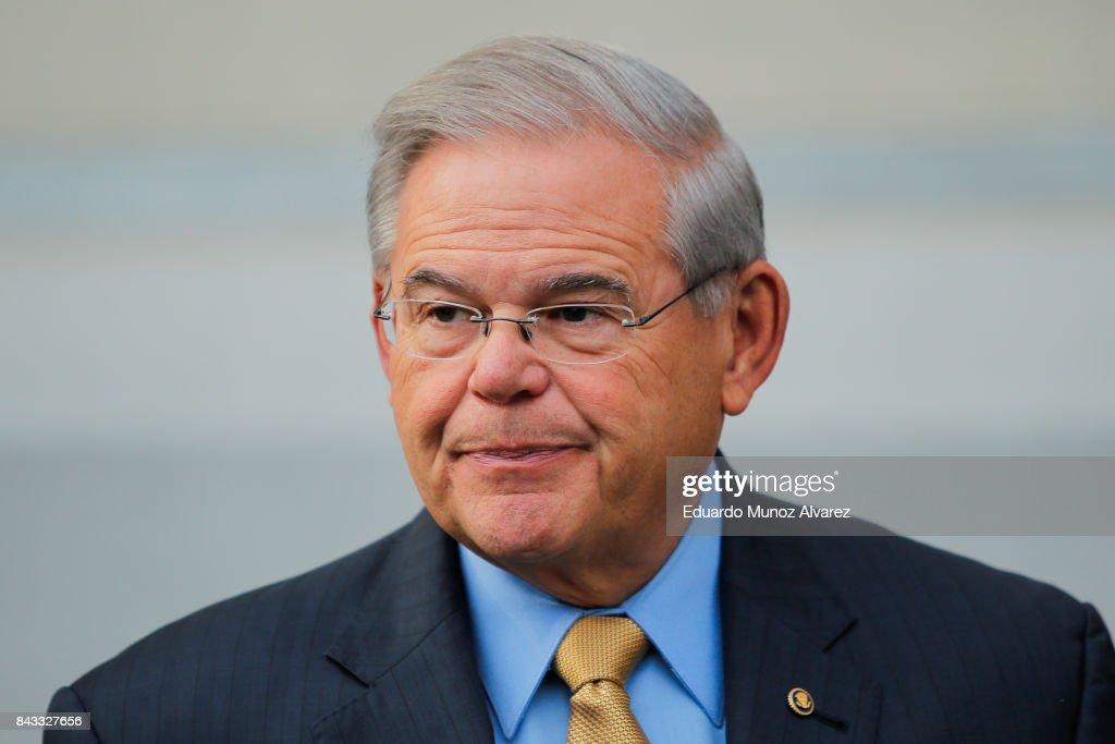 Bribery Trial Of Senator Robert Menendez   Begins In Newark Federal Court