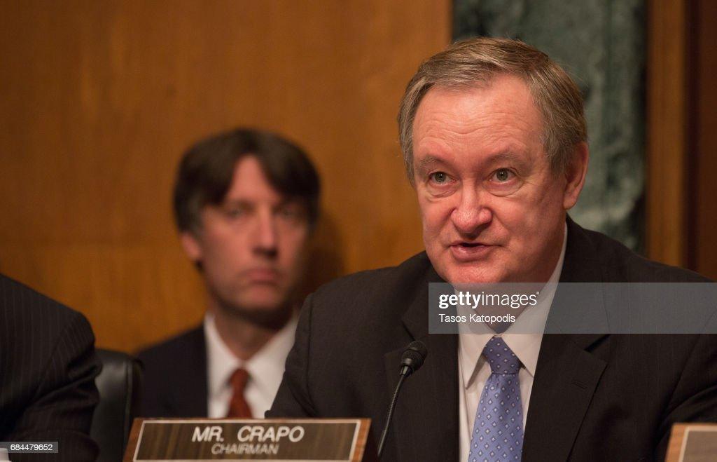 Treasury Secretary Steven Mnuchin Testifies To Senate Banking Committee On Domestic And International Policy