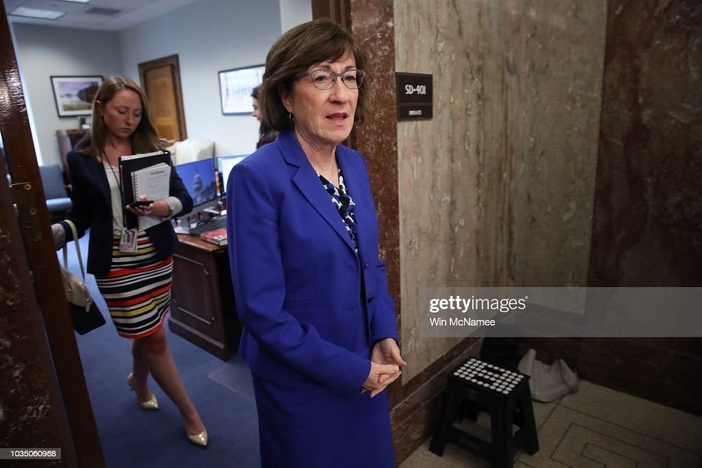 Senate Judiciary Committee Scrambles After Accusations Against Judge Kavanaugh : News Photo