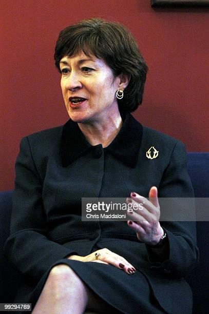 Sen. Susan Collins, R-Me., at an interview