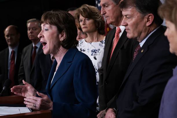 Image result for photos of sen collins rounds