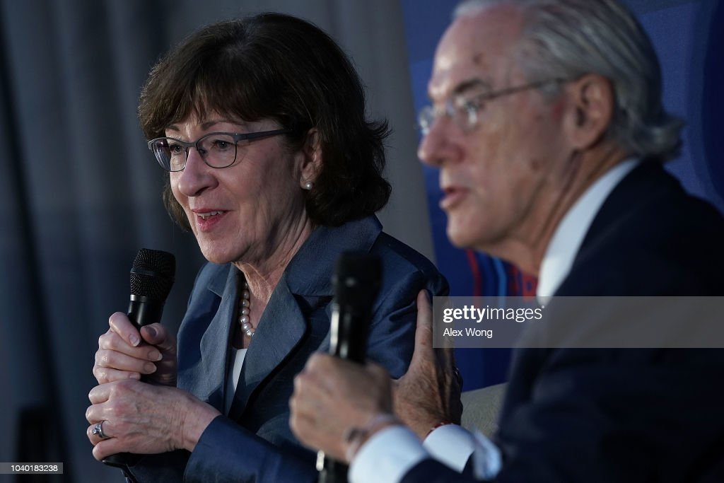 "Senator Susan Collins  Speaks At The ""Us Against Alzheimer's"" Summit"