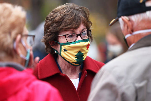 ME: Sen. Susan Collins Campaigns For Re-Election In Maine