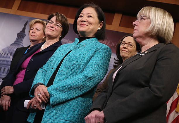 Image result for PHOTOS SEN HIRONO KLOBUCHAR