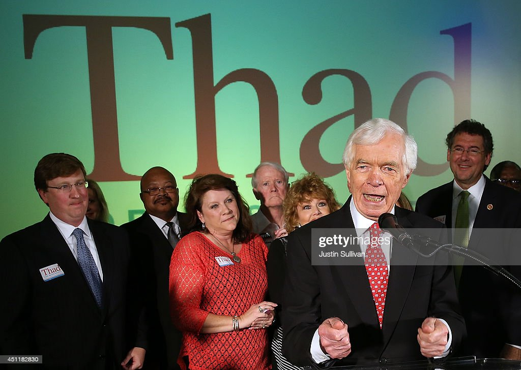 Thad Cochran Awaits Election Results After Close Run-Off Election