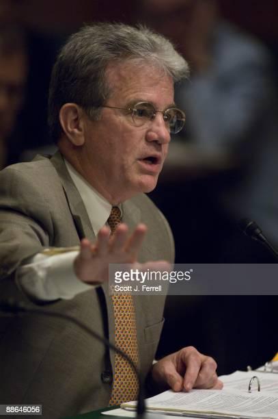June 23: Sen. Tom Coburn, R-Okla., during the Senate Health, Education, Labor and Pensions markup of a comprehensive healthcare bill.