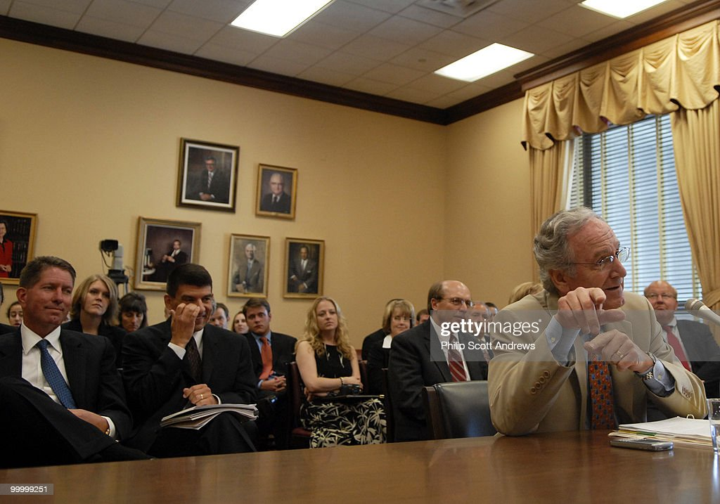 Sen. Tom Harkin D-Iowa testifies before the House Small Business Committee about the small bio-energy business workforce.