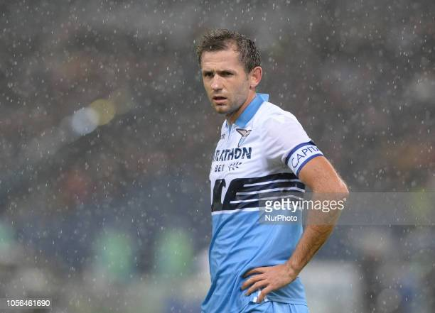 Senad Lulic during the Italian Serie A football match between SS Lazio and Inter at the Olympic Stadium in Rome on october 29 2018