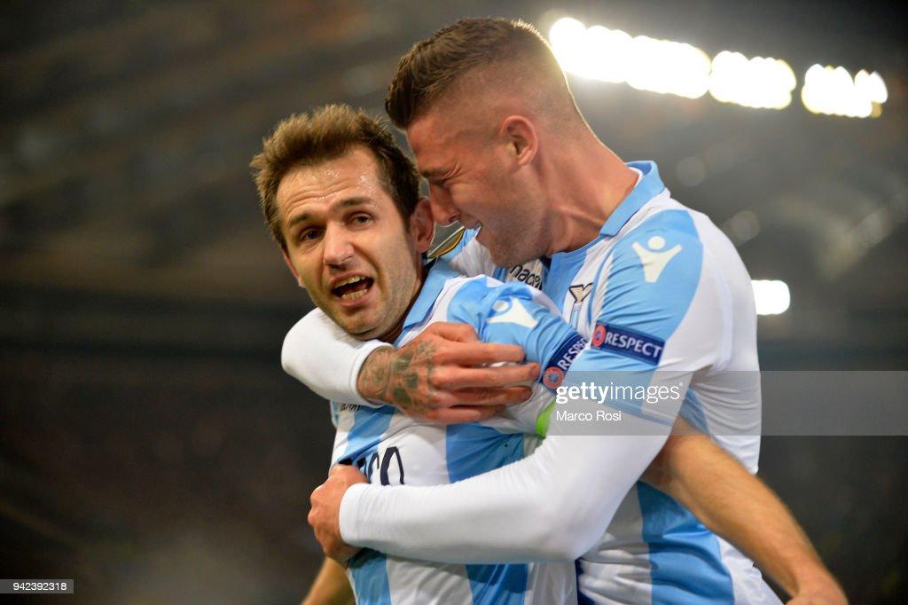 Lazio v RB Salzburg - UEFA Europa League Quarter Final Leg One