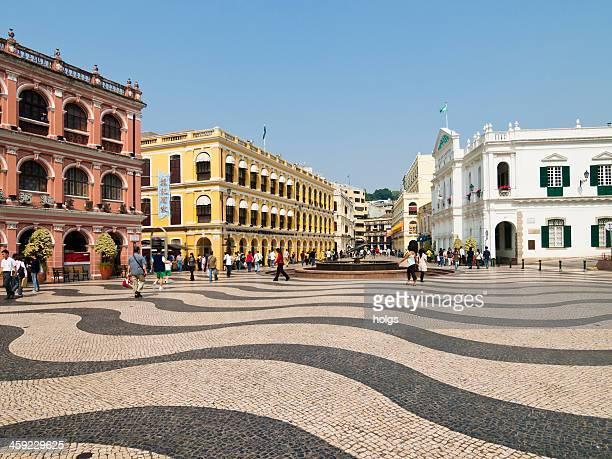 セナド広場、マカオ - マカオ ストックフォトと画像