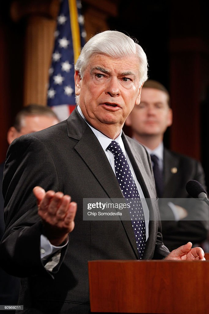 Banking Committee Chairman Chris Dodd Holds News Conf. On Financial Reform