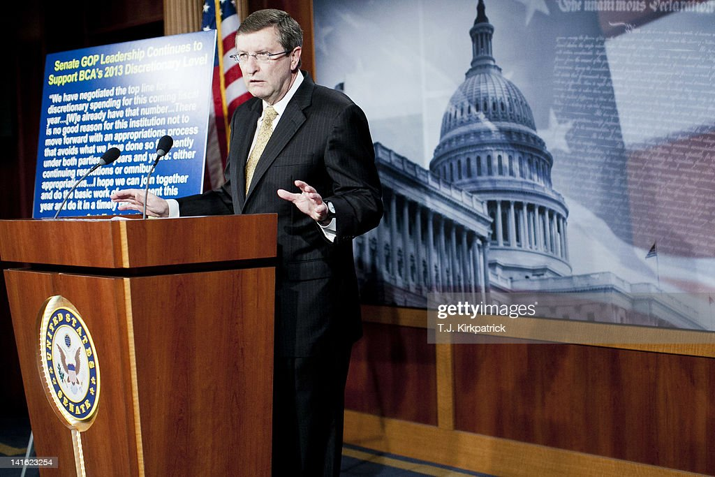 Senate Budget Chairman Kent Conrad Discusses FY2013 Budget Spending Levels