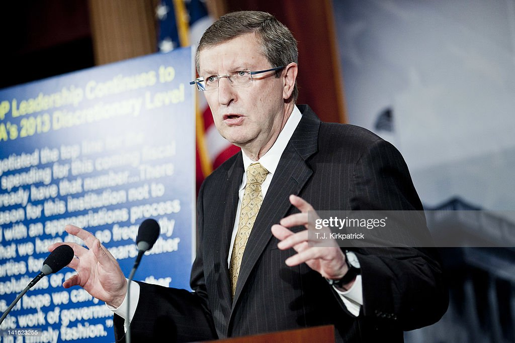 Senate Budget Chairman Kent Conrad Discusses FY2013 Budget Spending Levels