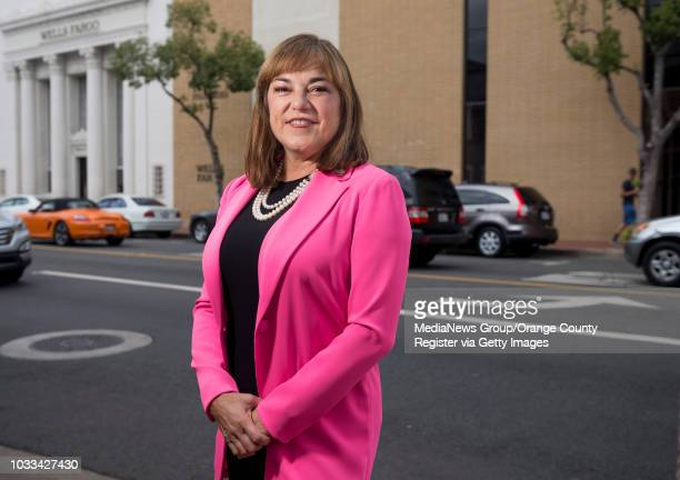 S Senate candidate Loretta Sanchez visited with lunchtime customers at Watson's Soda Fountain Cafe in Orange on Tuesday October 11 2016 to encourage...