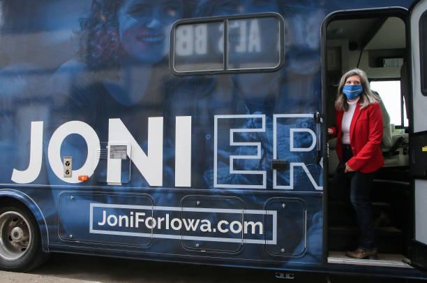 IA: GOP Senate Candidate Sen. Joni Ernst Campaigns In Iowa