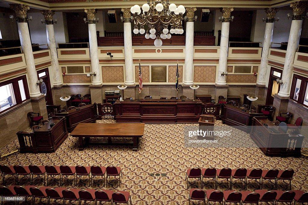 Senate Chamber Montana State Capitol High-Res Stock Photo ...