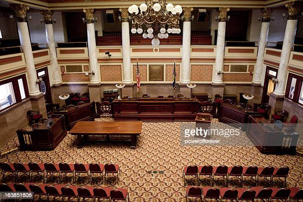 senate chamber montana state capitol - neo classical stock pictures, royalty-free photos & images