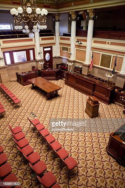 Senate Chamber Montana State Capitol