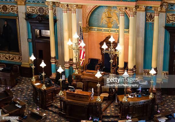 Senate Chamber of Michigan, Lansing