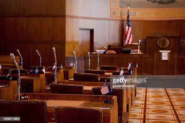 senate chamber oregon state capitol - capital cities stock pictures, royalty-free photos & images