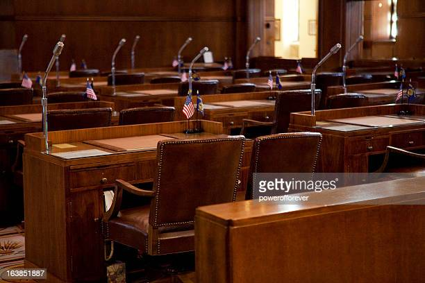 senate chamber oregon state capitol - senate stock pictures, royalty-free photos & images