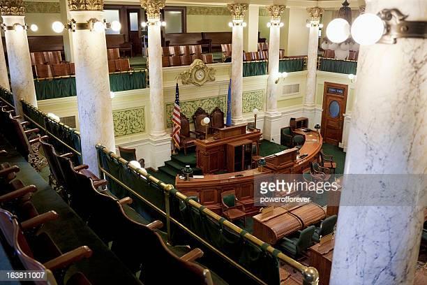 senado câmara capitólio do estado de dakota do sul - senado governo - fotografias e filmes do acervo