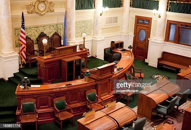 senate chamber south dakota state capitol - united states senate stock pictures, royalty-free photos & images