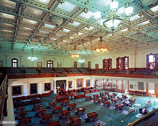 senate chamber, texas state capitol - senate stock pictures, royalty-free photos & images