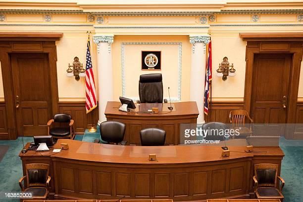 Senate chambre du Capitole de l'État du Wyoming