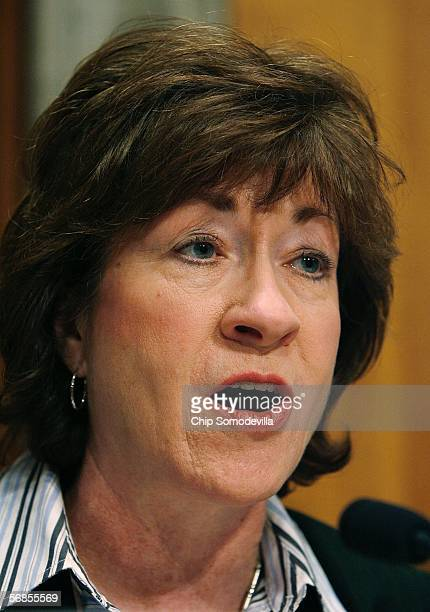 Senate Committee on Homeland Security and Governmental Affairs Chairman Susan Collins questions Department of Homeland Security Secretary Michael...