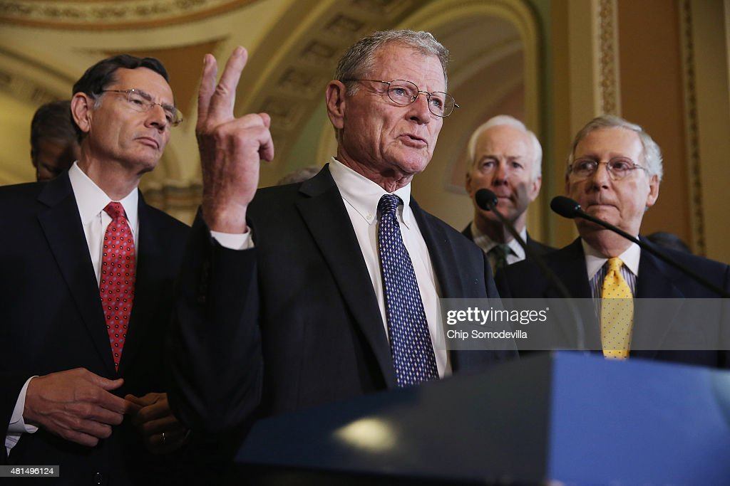 Senate Lawmakers Hold Their Weekly Policy Luncheons