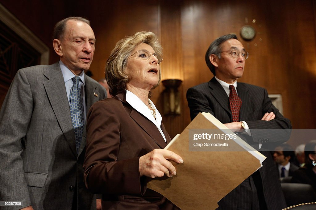 Senate Committee Holds Hearing On Clean Energy Jobs And The US Power Act : News Photo