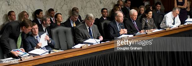 Senate Finance Committee full committee markup of The America's Health Future Act in the Hart Senate Office Building in Washington DC September 22...