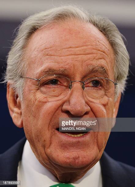 Senate Health Education Labor and Pensions Committee Chairman Tom Harkin DIA speaks during a briefing on a bipartisan proposal to expand early...