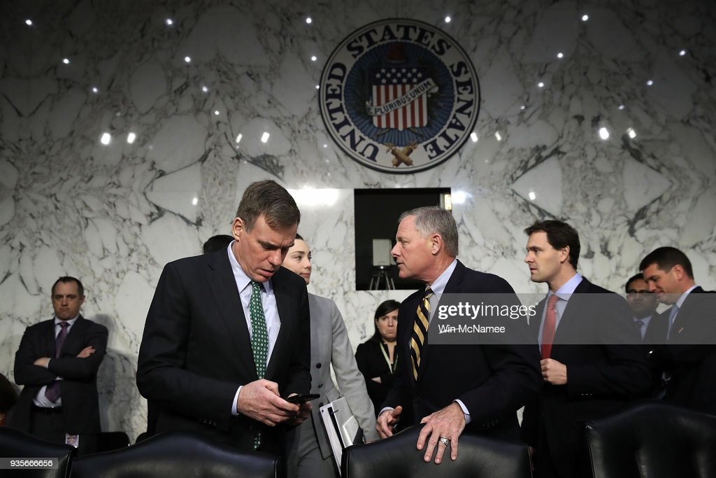 Senate Intelligence Committee Holds Hearing On Election Security