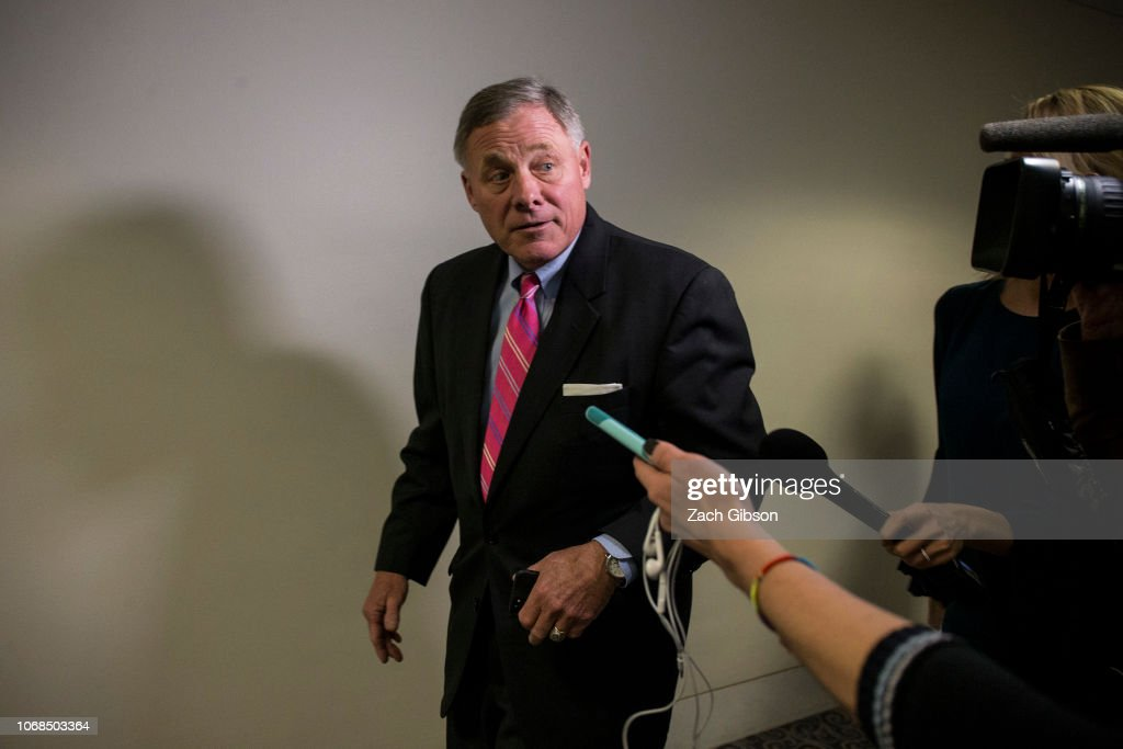 Senate Intel Committee Holds Closed Briefing On Intelligence Matters : News Photo