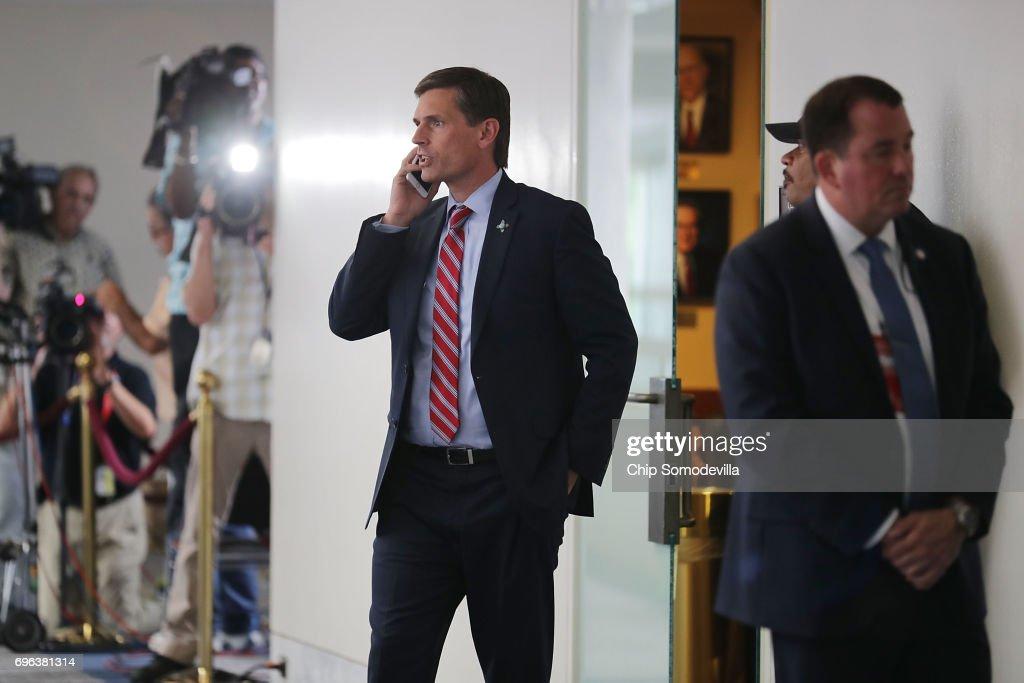 Senate Intelligence Committee Holds Closed Hearings On Intelligence Matters