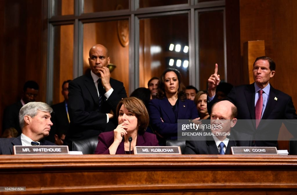 US-COURT-POLITICS-ASSAULT : News Photo