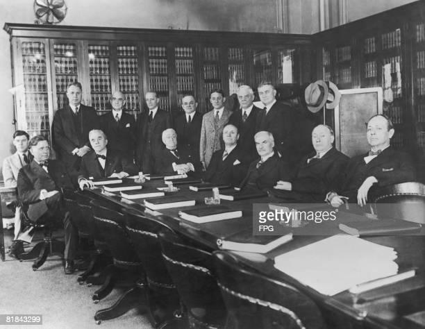 A Senate Judiciary Committee ready to discuss prohibition enforcement Washington circa 1925