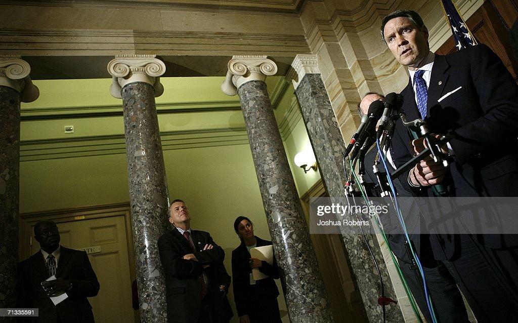 Repbulican Senators Speak About Border Security