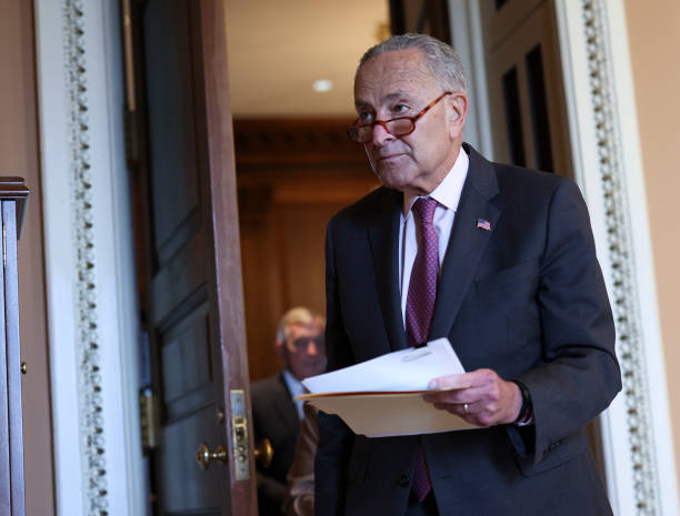 DC: Senators Meet For Policy Luncheons On Capitol Hill