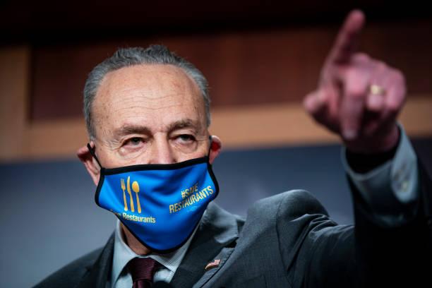 DC: Democratic Senate Leadership Hold Media Availability On Capitol Hill