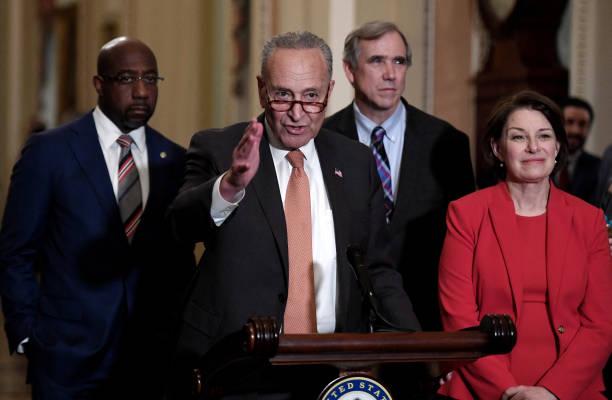DC: Senate Majority Leader Schumer Holds Press Availability