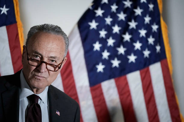 DC: Senate Majority Leader Schumer Holds Weekly News Conference