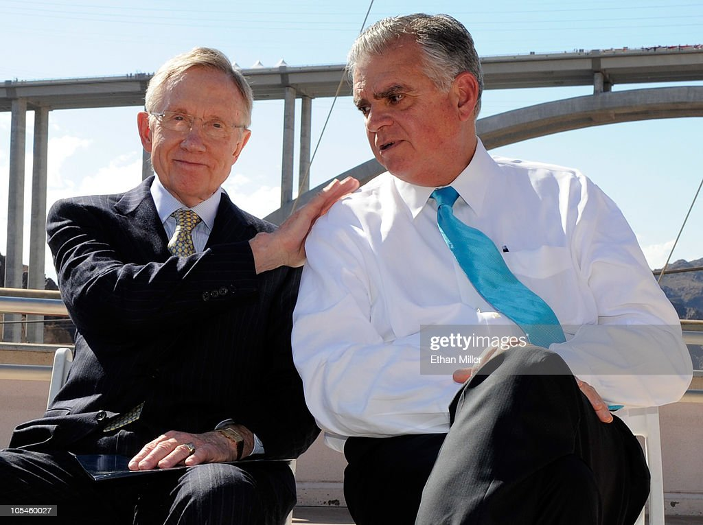 LaHood, Harry Reid Attend Dedication Of New Bridge Near Hoover Dam