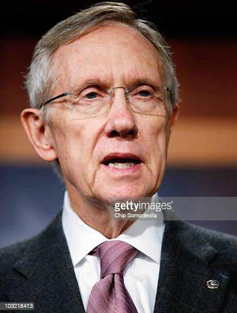 Senate Majority Leader Harry Reid announces that the Democratic leadership will not bring energy reform legislation to the floor for a vote before...